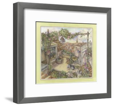 Rooftop Garden-Kim Jacobs-Framed Giclee Print