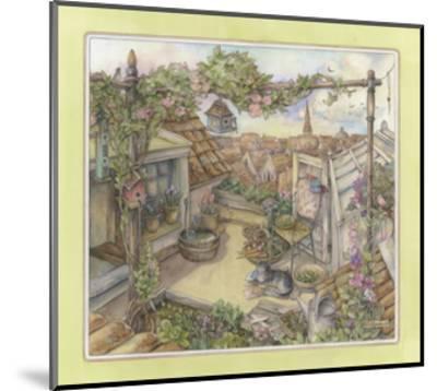 Rooftop Garden-Kim Jacobs-Mounted Giclee Print