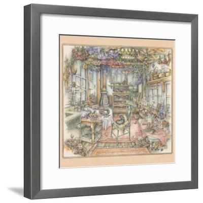 Dried Flowers-Kim Jacobs-Framed Giclee Print