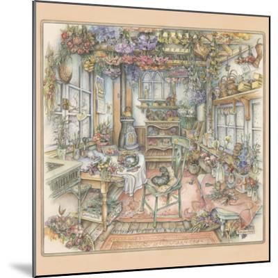 Dried Flowers-Kim Jacobs-Mounted Giclee Print