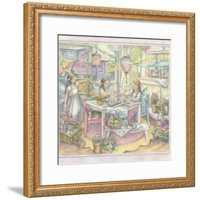 Easter Party-Kim Jacobs-Framed Giclee Print