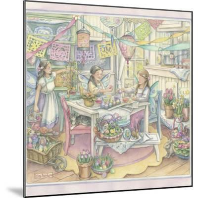 Easter Party-Kim Jacobs-Mounted Giclee Print