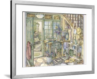 Flowers for House-Kim Jacobs-Framed Giclee Print