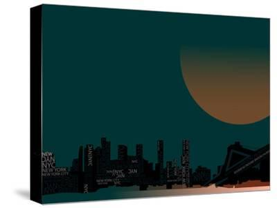Nyc 4--Stretched Canvas Print
