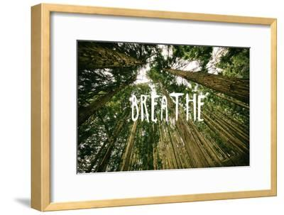 Breathe--Framed Premium Giclee Print