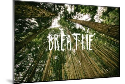 Breathe--Mounted Premium Giclee Print