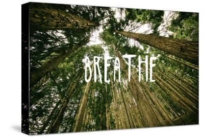 Breathe--Stretched Canvas Print