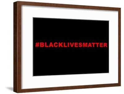 Lives Matter--Framed Art Print