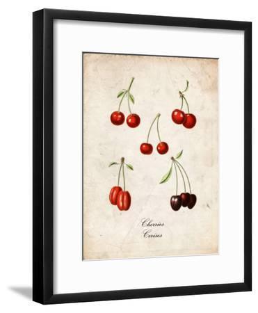 Cherries--Framed Art Print
