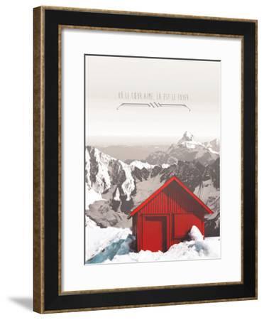 La est le Foyer-THE Studio-Framed Premium Giclee Print