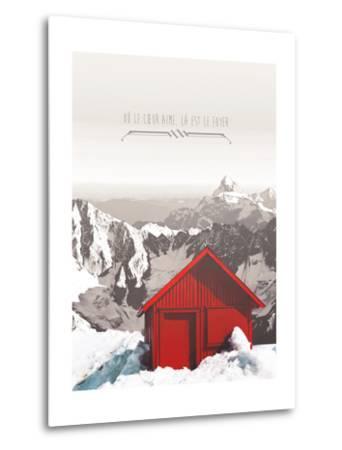 La est le Foyer-THE Studio-Metal Print