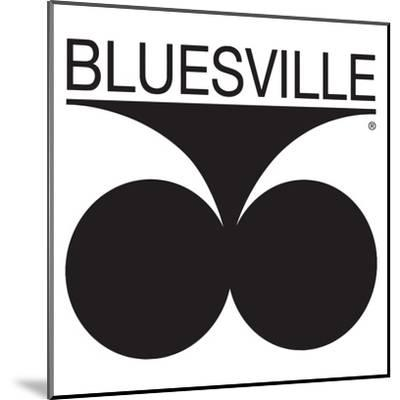 Bluesville Records Logo--Mounted Premium Giclee Print