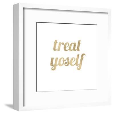 Golden Quote IX-Anna Hambly-Framed Art Print