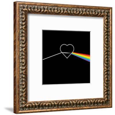 Dark Side of Love-Thomas Fuchs-Framed Art Print