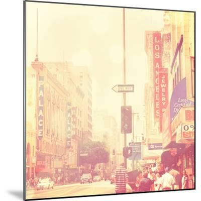 Sunday Afternoon in Los Angeles-Myan Soffia-Mounted Art Print