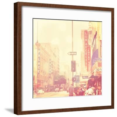 Sunday Afternoon in Los Angeles-Myan Soffia-Framed Art Print