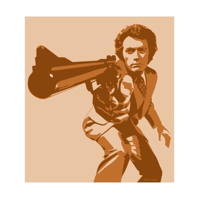 Dirty Harry-Emily Gray-Art Print