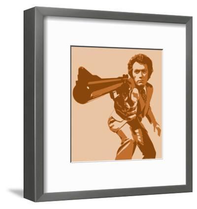 Dirty Harry-Emily Gray-Framed Art Print