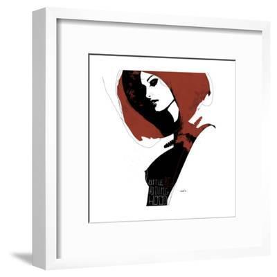 Little Red-Manuel Rebollo-Framed Art Print
