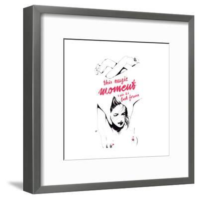Magic-Manuel Rebollo-Framed Art Print
