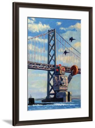 The Incident - Eric Joyner Poster-Eric Joyner-Framed Premium Giclee Print