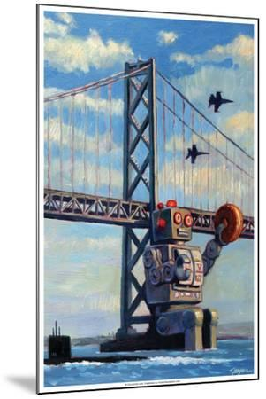 The Incident - Eric Joyner Poster-Eric Joyner-Mounted Premium Giclee Print