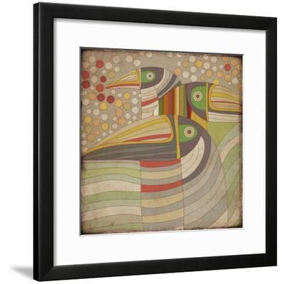Selvática, Tucan-Bel?n Mena-Framed Giclee Print