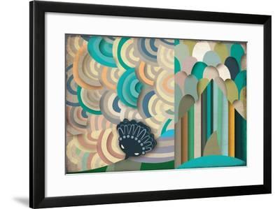 Selvática, Águila Harpía Color-Bel?n Mena-Framed Giclee Print