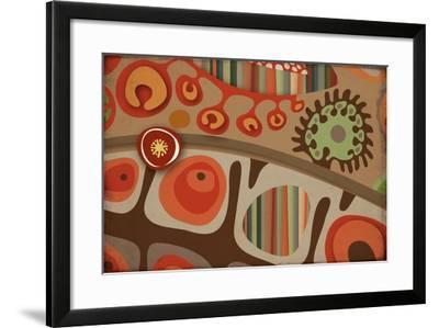 Selvática, Semilla Color-Bel?n Mena-Framed Giclee Print