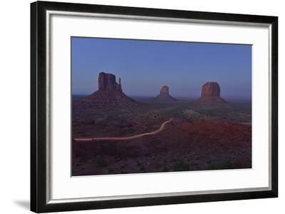 Buttes at Monument Valley Tribal Park-Raul Touzon-Framed Photographic Print