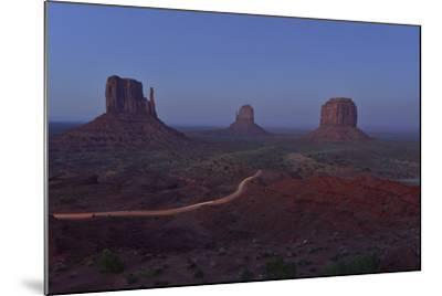 Buttes at Monument Valley Tribal Park-Raul Touzon-Mounted Photographic Print