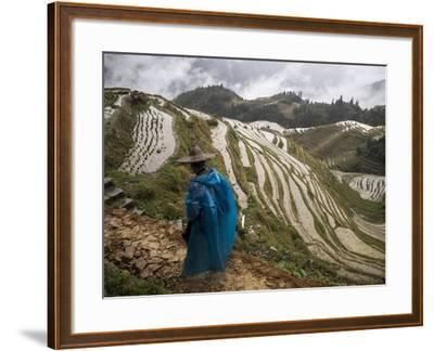 Longji Rice Terraces in China's Guangxi Province-Tino Soriano-Framed Photographic Print