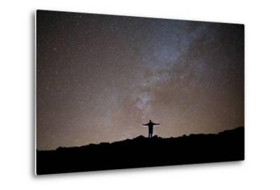 The Milky Way as Seen from the Summit of Haleakala-Ben Horton-Metal Print