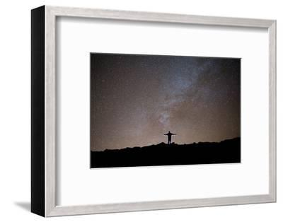 The Milky Way as Seen from the Summit of Haleakala-Ben Horton-Framed Photographic Print