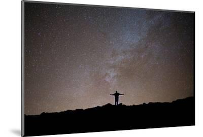 The Milky Way as Seen from the Summit of Haleakala-Ben Horton-Mounted Photographic Print