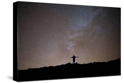 The Milky Way as Seen from the Summit of Haleakala-Ben Horton-Stretched Canvas Print