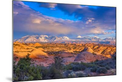 A Winter Sunset in Arches National Park-Ben Horton-Mounted Photographic Print