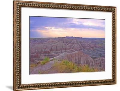 Rocky Landscape of Badlands National Park in South Dakota, Usa-Donna O'Meara-Framed Photographic Print