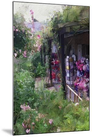 Gift Shop at Giverny-Sarah Butcher-Mounted Premium Giclee Print