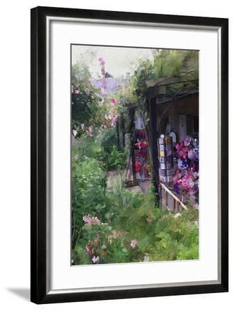 Gift Shop at Giverny-Sarah Butcher-Framed Premium Giclee Print