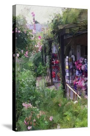 Gift Shop at Giverny-Sarah Butcher-Stretched Canvas Print