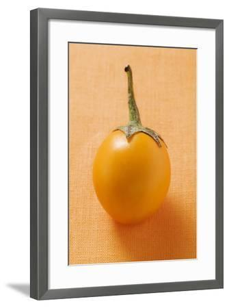 Yellow Baby Aubergine-Foodcollection-Framed Photographic Print