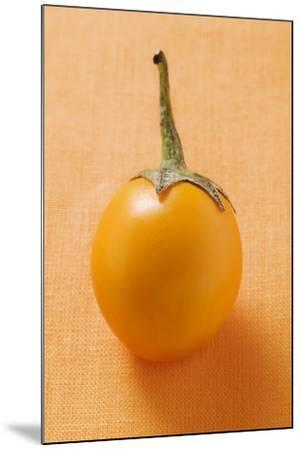 Yellow Baby Aubergine-Foodcollection-Mounted Photographic Print