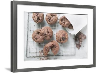 Chocolate Olive Cookies-Eising Studio - Food Photo and Video-Framed Photographic Print