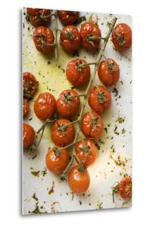Roasted Cherry Tomatoes-Foodcollection-Metal Print