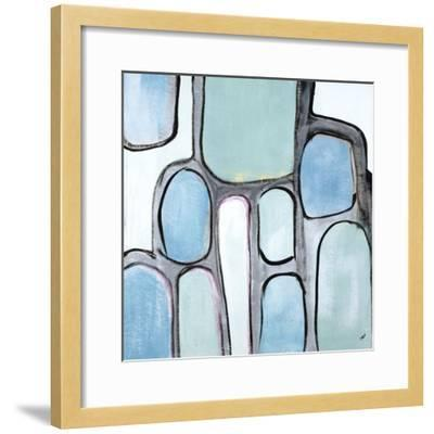 Mint Honey Comb-Brent Abe-Framed Giclee Print
