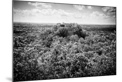 ?Viva Mexico! B&W Collection - Ruins of the ancient Mayan city of Calakmul-Philippe Hugonnard-Mounted Photographic Print