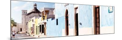 ¡Viva Mexico! Panoramic Collection - Urban Scene Campeche IV-Philippe Hugonnard-Mounted Photographic Print