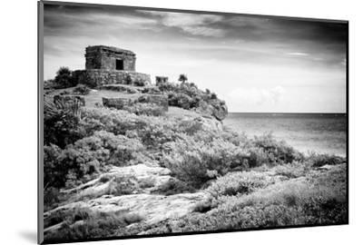 ¡Viva Mexico! B&W Collection - Tulum Riviera Maya I-Philippe Hugonnard-Mounted Photographic Print
