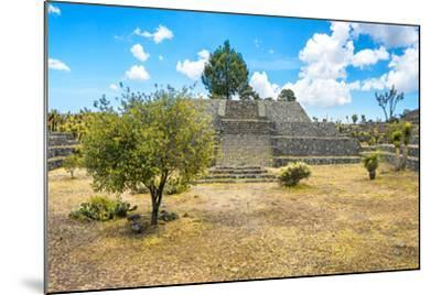 ?Viva Mexico! Collection - Pyramid of Cantona II - Puebla-Philippe Hugonnard-Mounted Photographic Print
